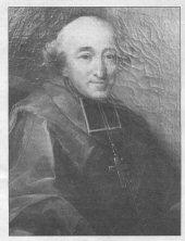 Portrait officiel de Mgr Jean-François de La Marche (toile exposée dans le salon de l'évêché à Quimper)