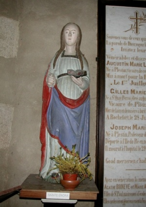sainte Enora, église de Plestin-les-Grèves